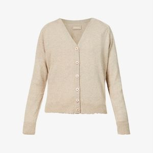J. Crew Women's Beige Button Down Cardigan Size 2X